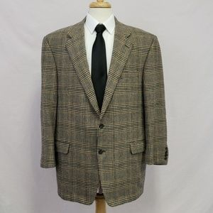 Carroll & Co Hickey Freeman cashmere sport coat 46